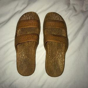 Classic Jandals - Light Brown